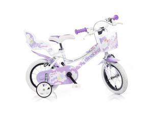 Bicicletta Per Bambina 12âeuro 2 Freni 126 Rsn Fairy Dino
