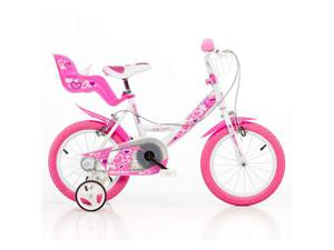 Bicicletta Per Bambina 14âeuro Little Heart 2 Freni 144rn