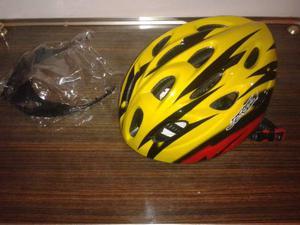 Casco per bici caschetto da ciclismo nuovo, mai usato