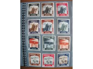 Colonie italiane Cirenaica francobolli fascismo