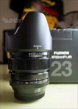 Fujifilm XF 23mm f/1.4 R Obiettivo Mirrorless Fuji