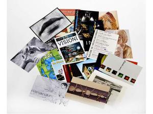 Lotto di 40 cartoline pubblicitarie di eventi artistici