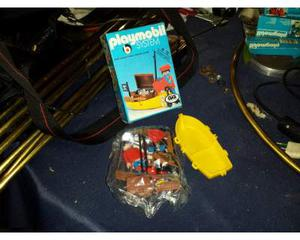 Playmobil pirati fondo di magazzino mai usato anni '80