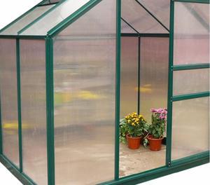 Serra in alluminio 190x192xh201cm per piante fiori posot for Serra per piante