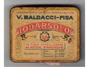 Scatola latta IODARSOLO, anni '40, vintage