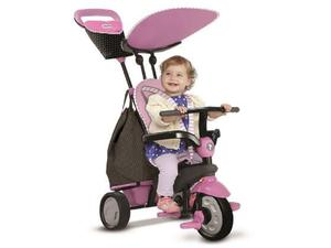 TRICICLO Smart Trike - Smart Trike Shine 4 in 1 - Rosa