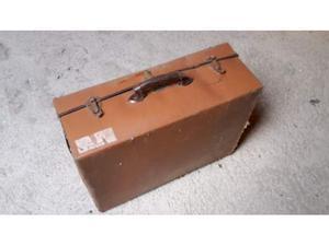Valigia di cartone anni '50
