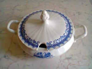 Zuppiera in porcellana Laveno
