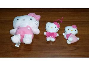 3 pupazzi originali Hello Kitty
