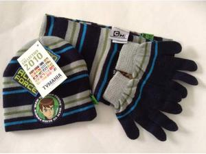 Berretto+sciarpa+guanti tgM maschio