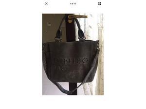 Borsa Pinko Bag grigia usata