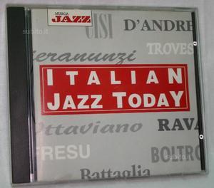 CD Jazz originale Italian Jazz Today