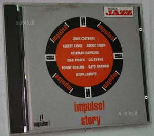 CD Jazz originale Musica Jazz Impulse Story