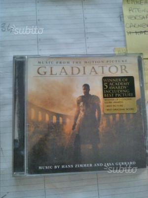 Cd colonna sonora il gladiatore