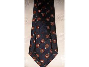 Cravatta gucci originale blu/fiori -nuova-