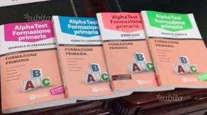 Kit completo Alphatest scienze della formazione pr