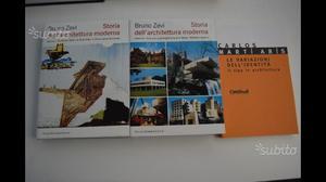 Libri e manuali di architettura