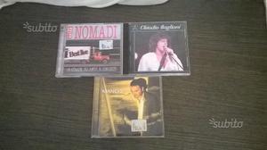 Mango,Nomadi,Claudio Baglioni cd originali