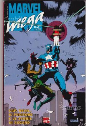 Marvel mega 2 dell'aprile  - da edicola