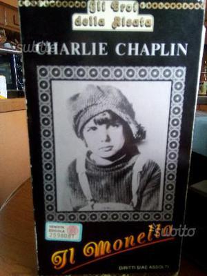VHS Charlie Chaplin Il Monello