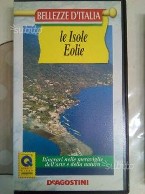 VHS le isole Eolie DeAgostini