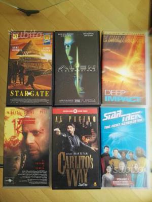 VHS originali Carlito's Way e Star Trek I° epis