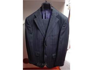 Vestito elegante Gessato Sonny Bono tg 48 NUOVO