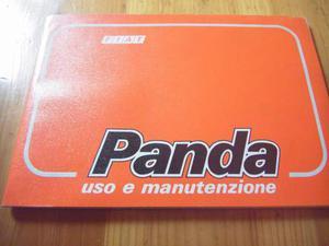 (353) - Fiat Panda - Manuale Uso & Manutenzione