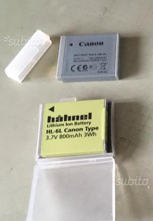 BATTERIA CANON NB-6L + compatibile