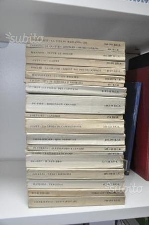 Collezione libri Biblioteca Universale Rizzoli