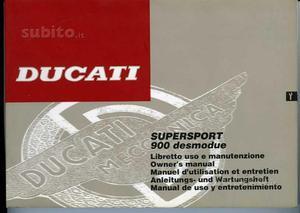 Ducati SuperSport  manuale uso manutenzione
