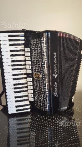 Fisarmonica 120 paolo soprani 4/5 come nuova bella
