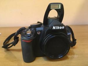 Fotocamera digitale reflex nikon d. solo corpo
