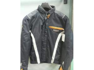 Giubbotto moto clover blu/nero tg. l/xl