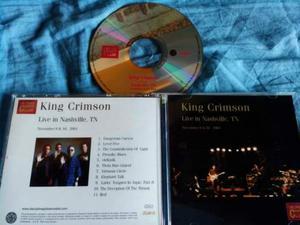 King Crimson Live in nashville  Collector's club cd
