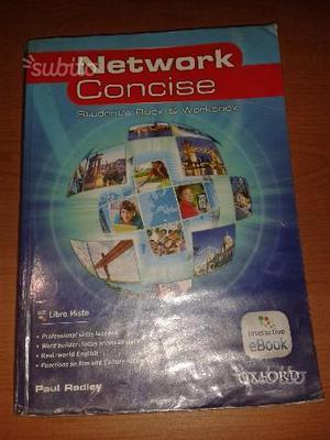 Libro scolastico di Inglese - Network Concise