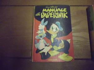 Manuali Walt Disney anni 70