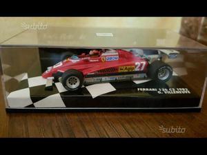 Modellino Ferrari 126 C2 G. Villeneuve