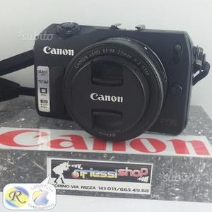 USATO CANON EOS M + obiettivo 22mm INCLUSO