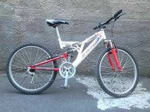 Bicicletta mtb 24 pollici full suspension