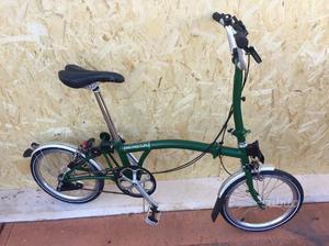 Bicicletta pieghevole Brompton Pari al nuovo