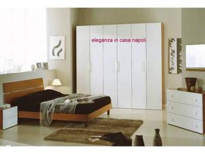 Camera da letto economica ciliegio e panna