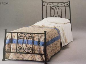 Usato letto bergamo posot class - Letto singolo in ferro battuto prezzi ...