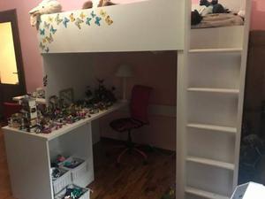 Letto a soppalco con armadio scrivania e posot class - Letto soppalco con scrivania ...