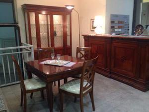 Camera da pranzo classica posot class - Camera da pranzo classica ...