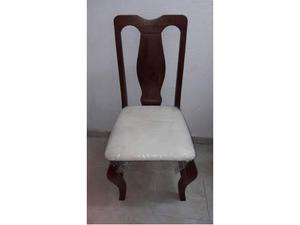 Sedie in Legno Massello Colore Noce
