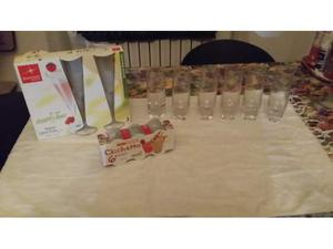Set di bicchieri nuovi