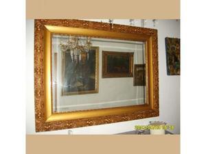 Specchiera depoca dorata