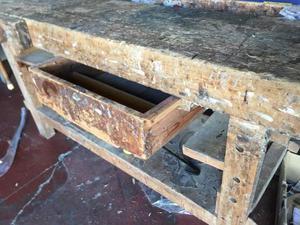 Banco da falegname tavolo da reggio emilia posot class - Tavolo da falegname usato ...