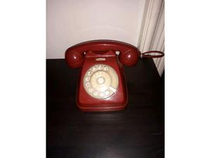 Telefono vintage SIP rosso anni 70